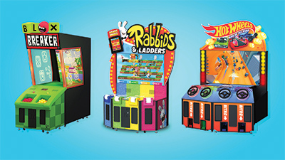 Arcades from different franchises