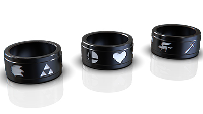 Video Games Themed Wedding Band
