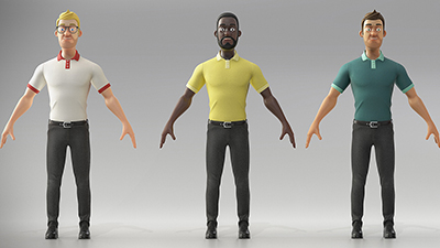 Stylized Generic Characters